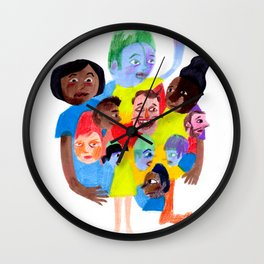 Wouldn't it be boring if we all looked the same? Wall Clock