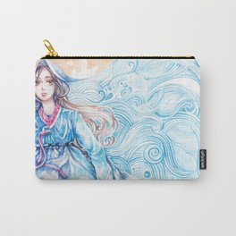 Wavediver - Korean Hanbok Manga Illustration Carry-All Pouch