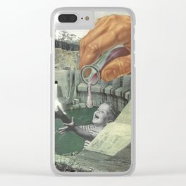 Dying of Thirst Clear iPhone Case