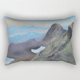 Hello Highlands, beautiful Scotland, original landscape Rectangular Pillow
