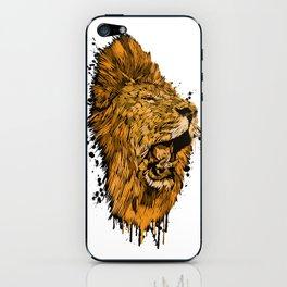 Golden Lion iPhone Skin