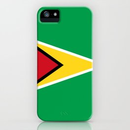 guyana country flag iPhone Case