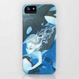 Orca Guardian Mermaid iPhone Case