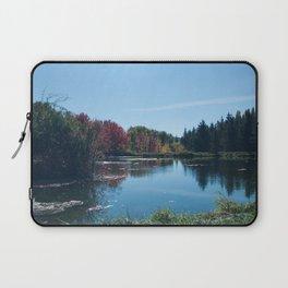 Fall Landscape Photography Print Laptop Sleeve