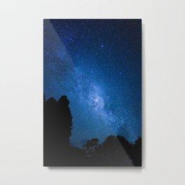 Milky Way from Coromandel, New Zealand Metal Print