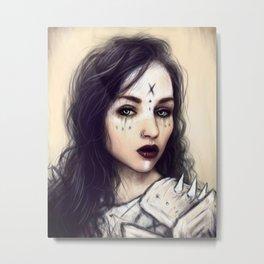 Vampiric Empress Metal Print
