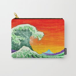 Ulterior Motive of the Great Wave Carry-All Pouch