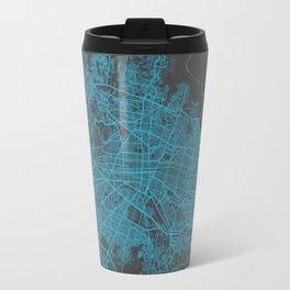 Guadalajara map Travel Mug