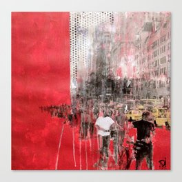 People of NY Canvas Print