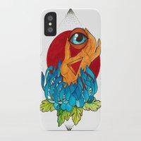 hamsa iPhone & iPod Cases featuring Hamsa by missfortunetattoo