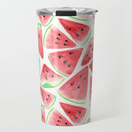 Watermelon slices pattern Travel Mug