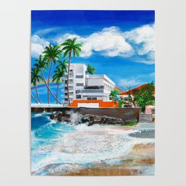 Isla Verde - $1M View, Carolina, San Juan, Puerto Rico Poster