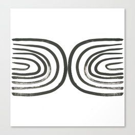 Round About Canvas Print