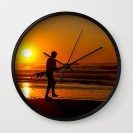Seize the Morning Wall Clock