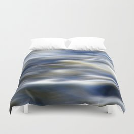 Abstract Waves Duvet Cover