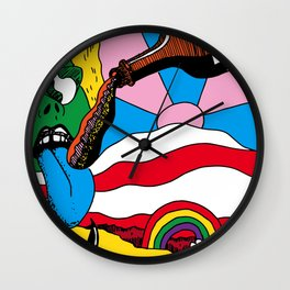 Whacko Cooltown Wall Clock
