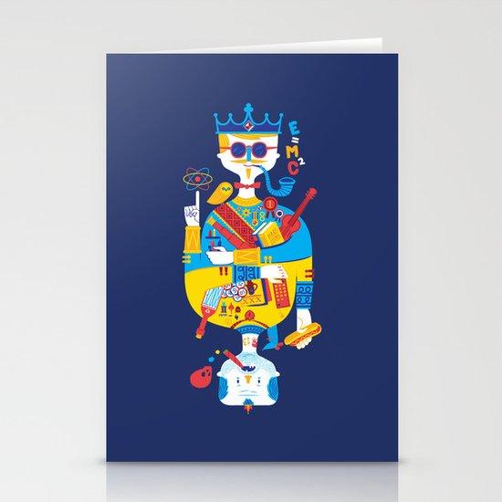 Jack of Smarts (Knave of Slobs) Stationery Cards