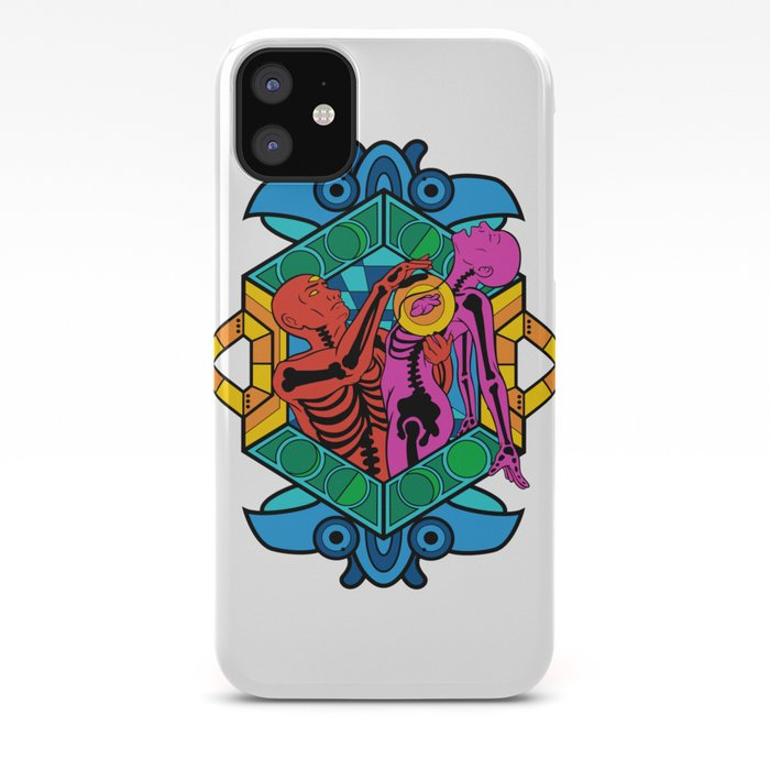 Skull Overload Pattern iPhone 11 case