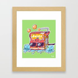 Apple Juice Framed Art Print