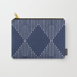 Geo / Navy Carry-All Pouch
