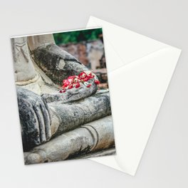 Phuang Malai for the Buddha Stationery Cards