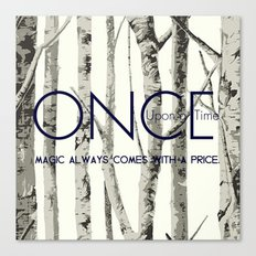 Once Upon a Time (OUAT) Canvas Print