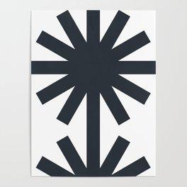 Spring (White) Poster