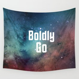 Boldly Go Wall Tapestry