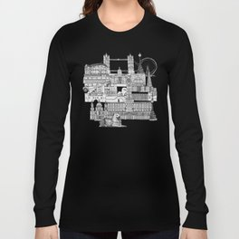 London toile red Long Sleeve T-shirt