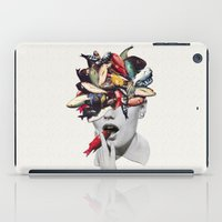 eugenia loli iPad Cases featuring Ωmega-3 by Eugenia Loli