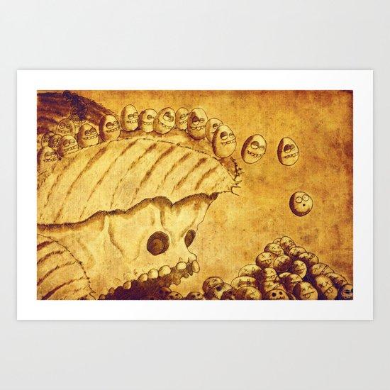 Lemmings Art Print