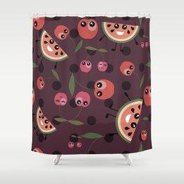 Fruit mix pattern Shower Curtain