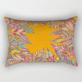 Summertime Always Leaves Rectangular Pillow
