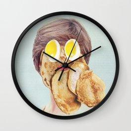 Diana of Pancakes Wall Clock