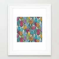 tulips Framed Art Prints featuring tulips by Sharon Turner