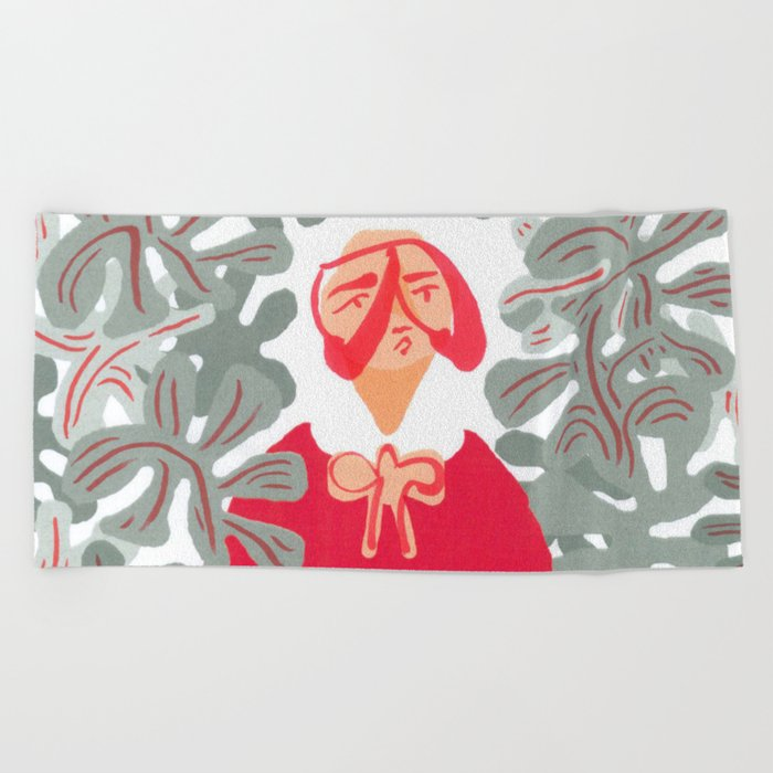 Goo-chi Two Beach Towel