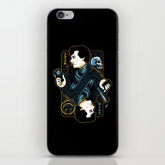 The Detective of 221B iPhone & iPod Skin