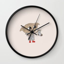 Dobby Wall Clock