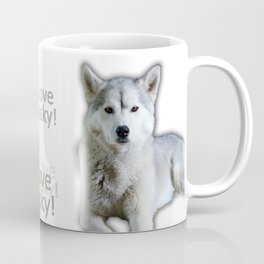 I love Husky Coffee Mug