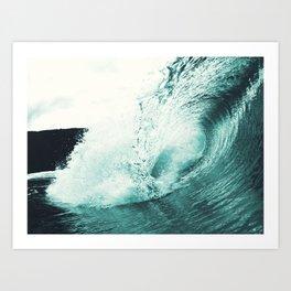 Liquid Motion Art Print