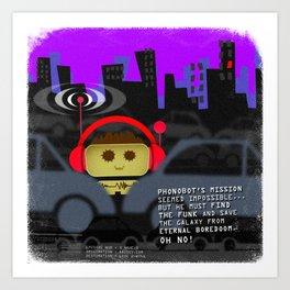 Phonobot - 03 Art Print