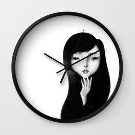 Hesitation Wall Clock
