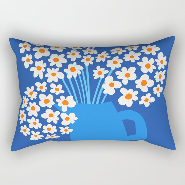Abstraction_FLORAL_Blossom_001 Rectangular Pillow