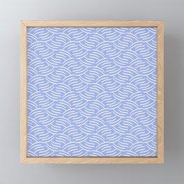 Tartini (Blue) Framed Mini Art Print