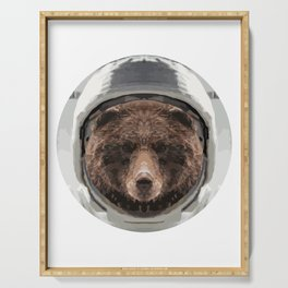 Space Bear Serving Tray