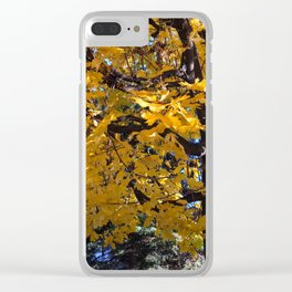 Mapple leafs Clear iPhone Case