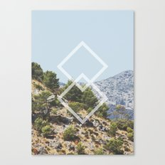 Simple Geometry Canvas Print