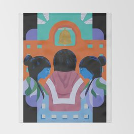 A Mission Throw Blanket