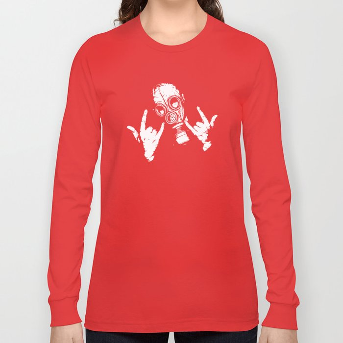 Devil Horns Long Sleeve T-shirt