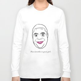 Tracy Morgan is the Danish Girl Long Sleeve T-shirt